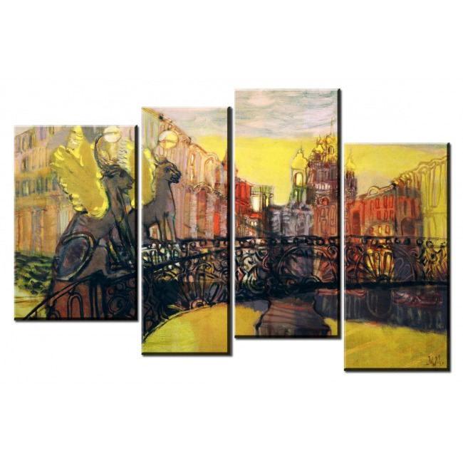 Рисованный Петербург