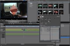 Пример работы в видеоредакторе: