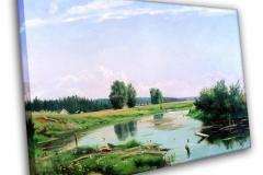 Пейзаж с озером