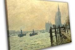 Темза у Вестминстера (Вестминстерский мост)